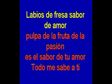 Sabor de Amor -  Danza Invisible -  karaoke  Tony Ginzo