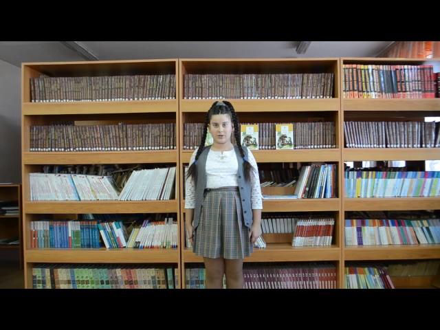 Изображение предпросмотра прочтения – ЕкатеринаХанина читает произведение «Белка (В деревне, в праздник, под окном…)» И.А.Крылова