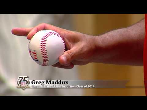 Greg Maddux Talks Pitch Grips - Pointers from the Pros