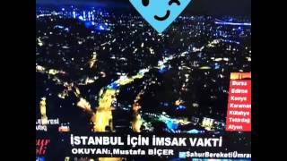 İstanbul için imsak vakti! (namaz uykudan hayırlıdır)