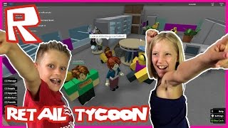 Retail Tycoon with RonaldOMG | Roblox