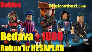 FREE ROBUXLU ACCOUNT DISTRIBUTED | SITE BİLGİCAMBAZİ.COM GIVING FREE ROBUX | TAKE IT BEFORE IT'S TOO LATE..!!