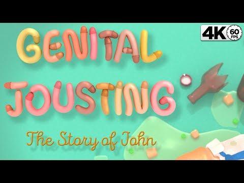 Genital Jousting Story Mode  Let&39;s Play 4K 60fps The Story of John