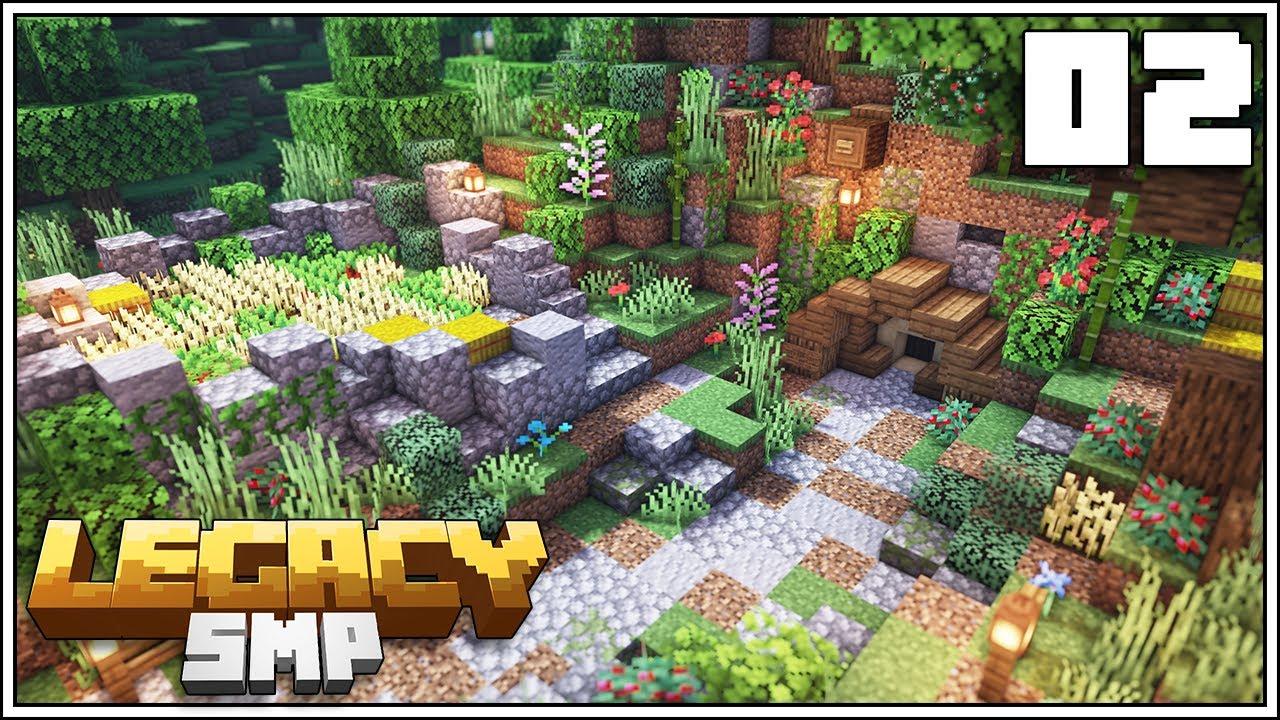 Download Legacy SMP: Episode 2 - TINY HOBBIT HOLE ZERO TICK FARM!!! [Minecraft 1.15 Survival Multiplayer]
