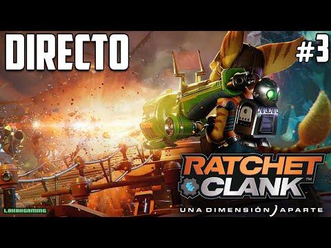 Ratchet & Clank Una Dimensión Aparte - Directo 3# Español - Final del Juego - Ending - PS5 60FPS