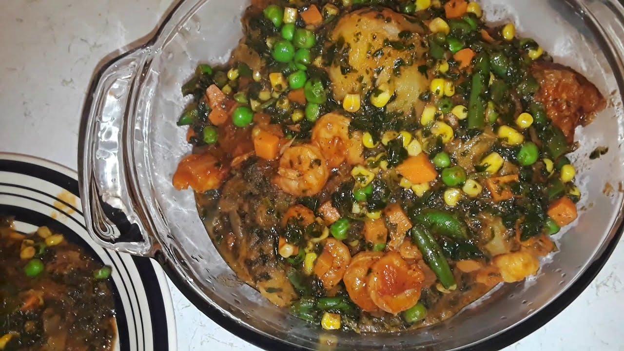 How to make African potato or yam porridge/Nigerian recipes
