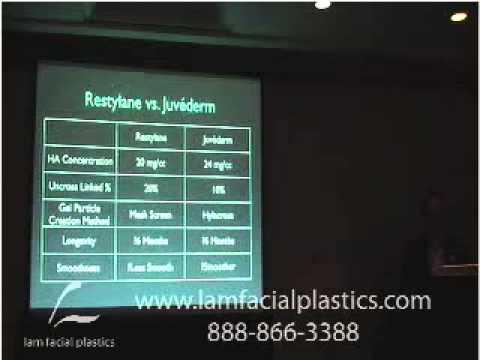 Restylane Vs. Juvederm Lecture, Boca Raton, 2007