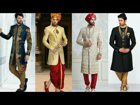 Latest Indian Traditional Wedding Dresses For Men 2017 | Designer Sherwani Collection | Party Wear