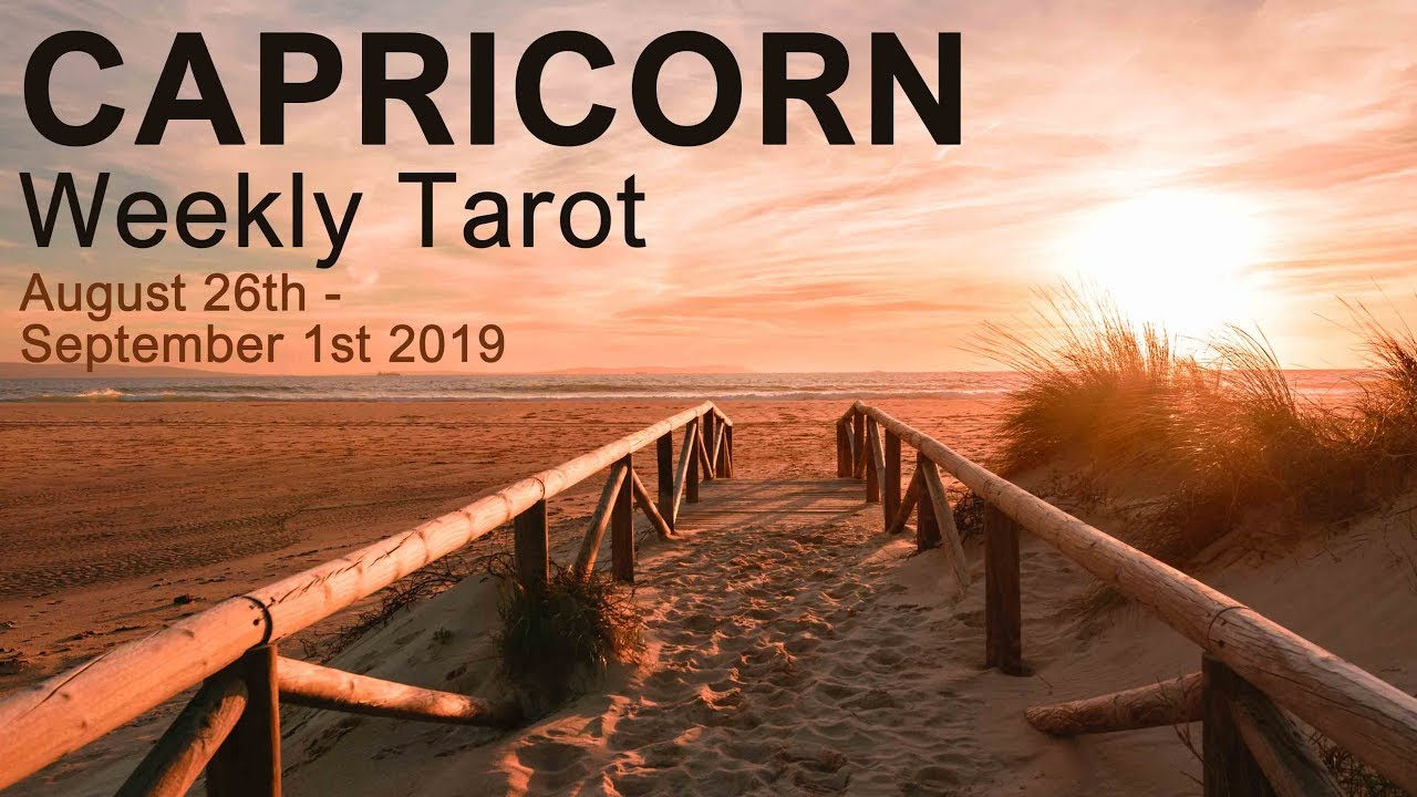 39 61 MB] CAPRICORN WEEKLY TAROT