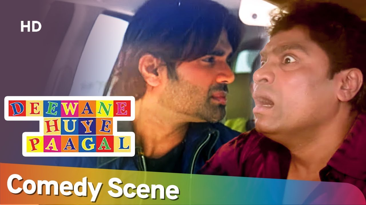 Best Comedy Scene - Movie Deewane Huye Paagal - Akshay Kumar-Johny Lever- Paresh Rawal