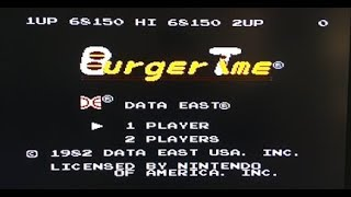Burgertime (NES) Speedrun - Without dying