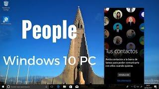 Análisis de People Windows 10 PC en español
