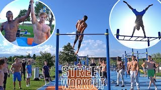LE PLUS BEAU TRAINING DE MA VIE 🔥 STREET WORKOUT !