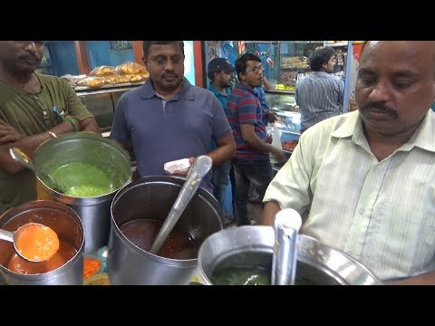 Chennai Street Food - Most Popular Sev Puri @ 25 Rs - Pani Puri 4 Piece @ 10 Rs