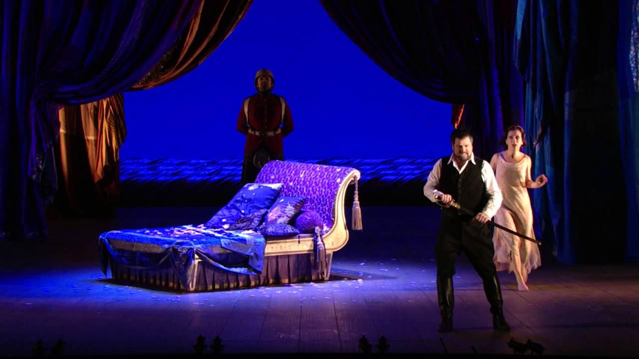 """Giulio Cesare: """"Al lampo dell'armi"""" -- David Daniels (Met Opera)"""