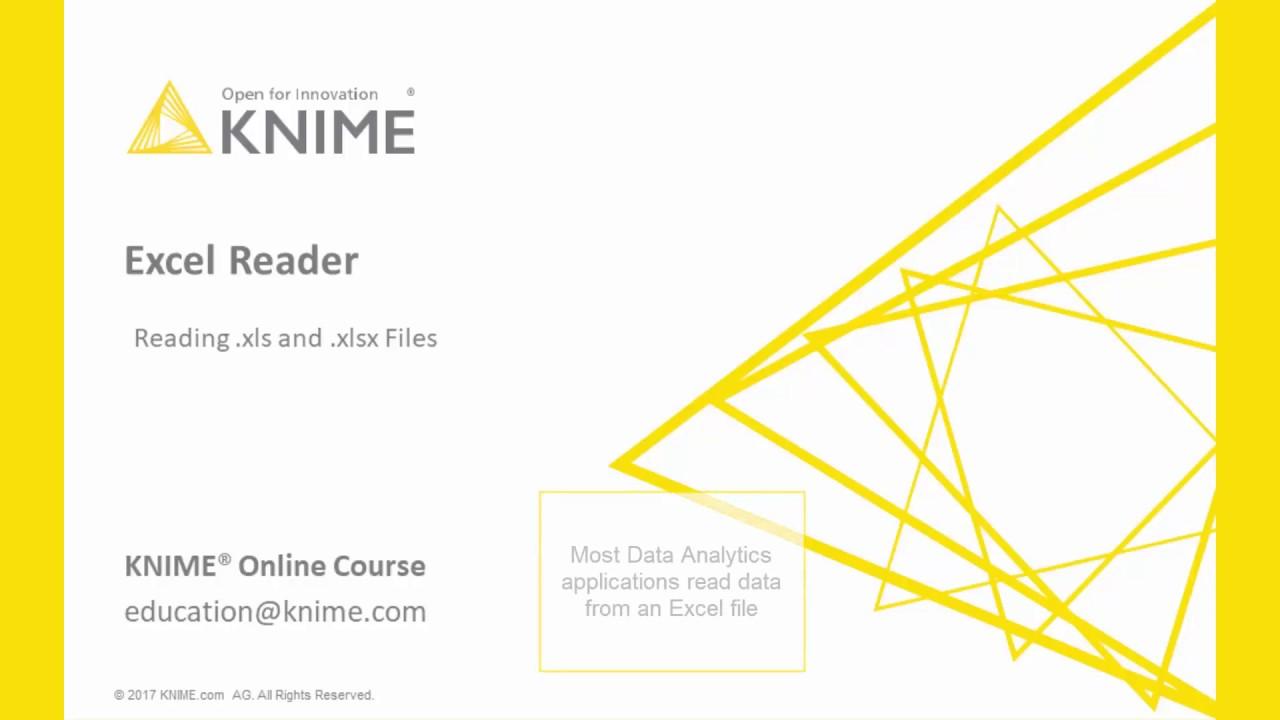 Excel Reader Node | KNIME