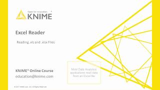 Data Access in KNIME: Excel Reader