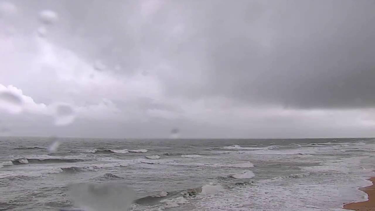 Hurricane Matthew Flagler Beach Pier Weather Camera