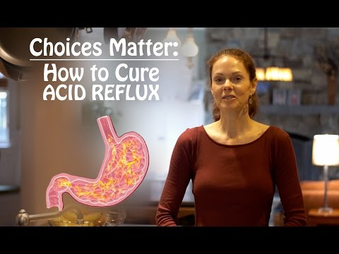 Choices Matter | Health Tip #3: How To Cure Acid Reflux
