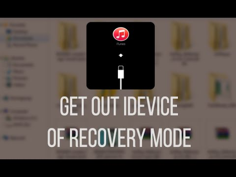 how to get iphone out of recovery mode how to get out your iphone ipod out of recovery 3455