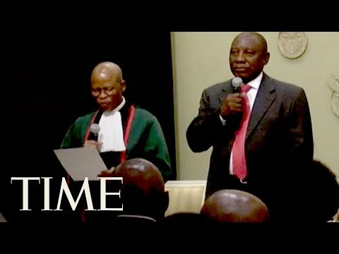 Cyril Ramaphosa Set To Be South Africa's New President After Jacob Zuma's Resignation   TIME