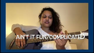 Complicated/Ain't It Fun- Avril Lavigne/Paramore (original Acoustic Mash Up By Andie)