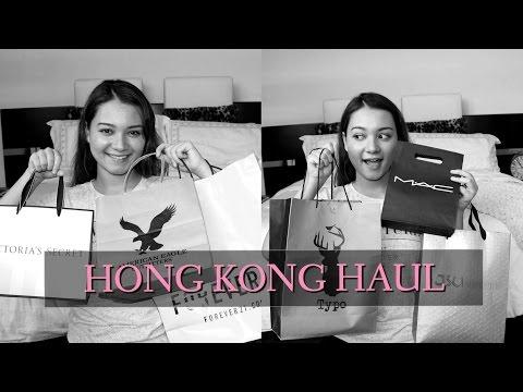 HUGE HONG KONG HAUL !! Fashion + Beauty | KimJeynes