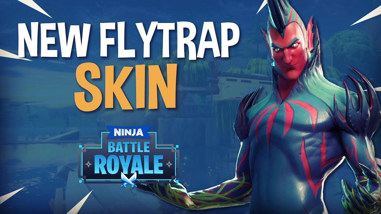 New FlyTrap Skin!! - Fortnite Battle Royale Gameplay - Ninja