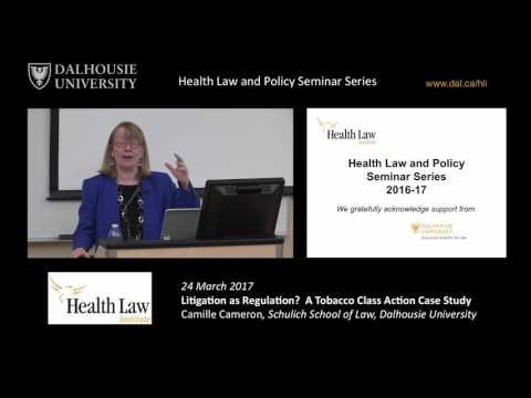 Litigation as Regulation? A Tobacco Class Action Case Study