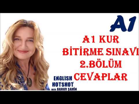 A1 KUR BİTİRME SINAVI