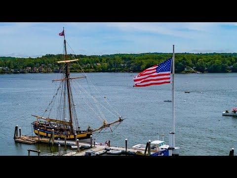 Tall Ship Providence heads to its new home!