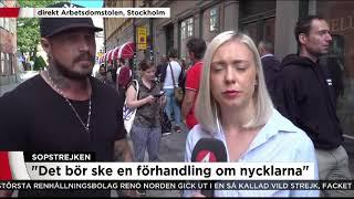 """""""Lämnar inte ifrån oss nycklarna utan förhandling"""" - Nyheterna (TV4)"""