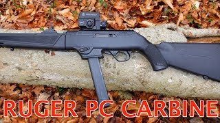THE NEW RUGER PC CARBINE 9MM REVIEW