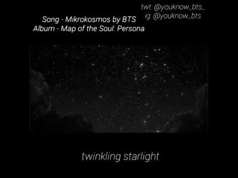 Mikrokosmos - BTS Lyrics