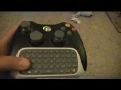 xbox 360 controller chatpad windows driver