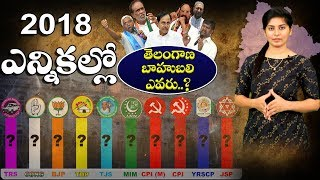 Telangana Election Survey 2018 Promo | Telangana Bahubali | Who is Next Telangana CM ? | Dot News