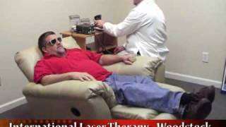 What A Laser Therapy Session Looks Like To Stop Smoking, Lose Weight or Reduce Stress