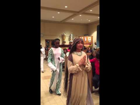 Guadalupe Youth Group - Chritmas Nativity Scene