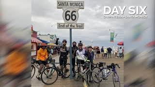 Day 6 - An Epic Finish In Santa Monica - Cycle For Education