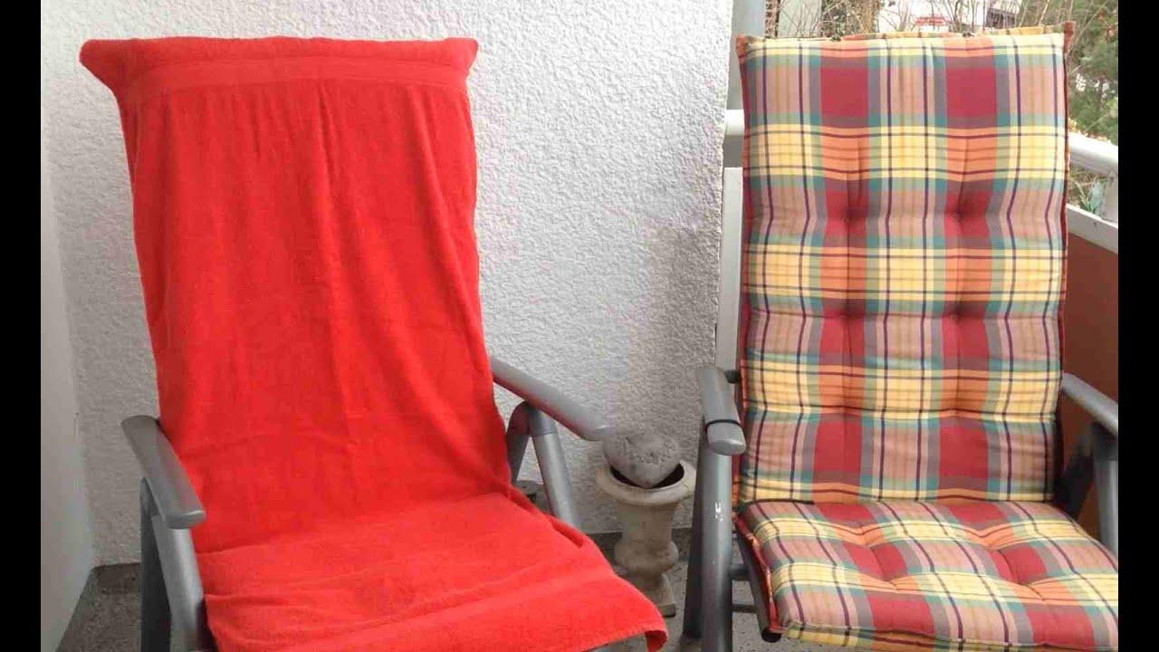 diy bez ge f r campingst hle youtube. Black Bedroom Furniture Sets. Home Design Ideas