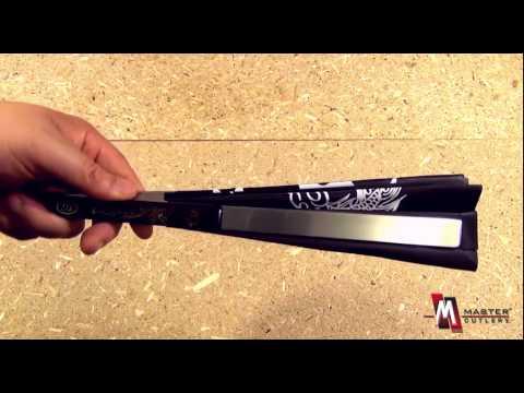 Kung Fu Fighting Fan 2510-CBK Product Video