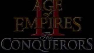 Age of Empires 2 - The Conquerors expansion - Intro