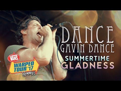 "Dance Gavin Dance - ""Summertime Gladness"" LIVE! Vans Warped Tour 2017"