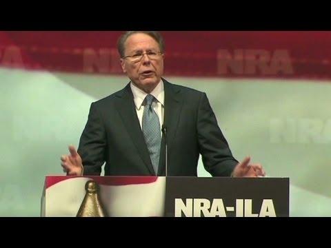 NRA CEO Wayne LaPierre slams Piers Morgan