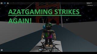 Azatgaming juega un roblox Metal Gear Solid 2 obby