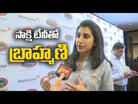 What  Brahmani Told to Sakshi On Heritage Deal ?  - Watch Exclusive