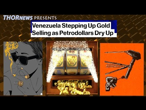 2nd Biggest Gold Sale ever! Venezuela sells to offset Oil Crash & Debt