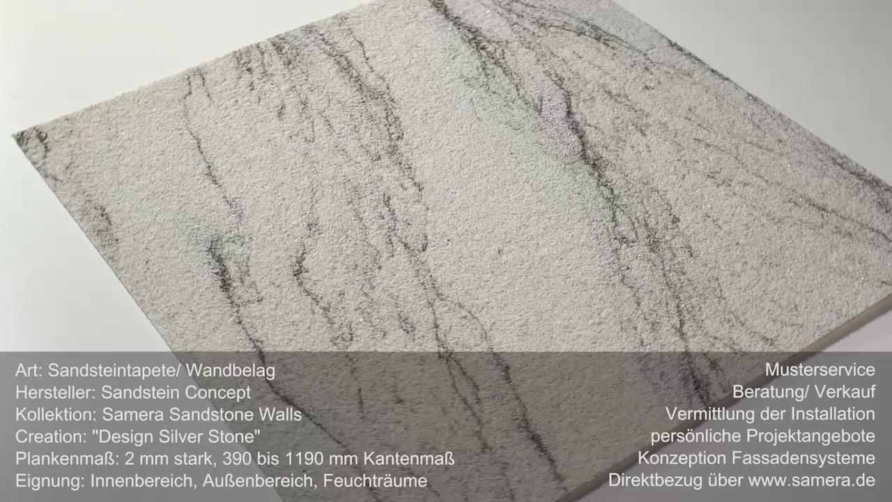 Flexibler Sandstein Fliesen Platten Silver Stone Auch