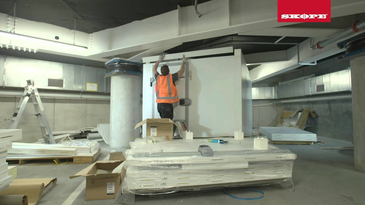 SKOPE MISA Cool, Freezer and Keg room installation video - YouTube