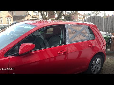 VW Golf Mk7 Rear Window Glass Replacement - Save Yourself £220!!!